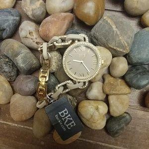 🆕 BKE Rhinestone Watch Gold